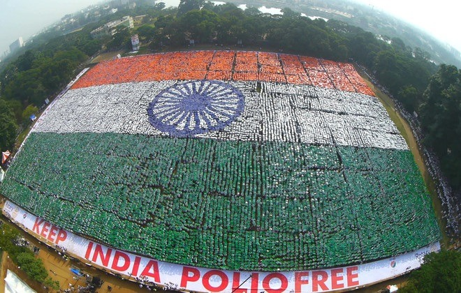 india flag world record