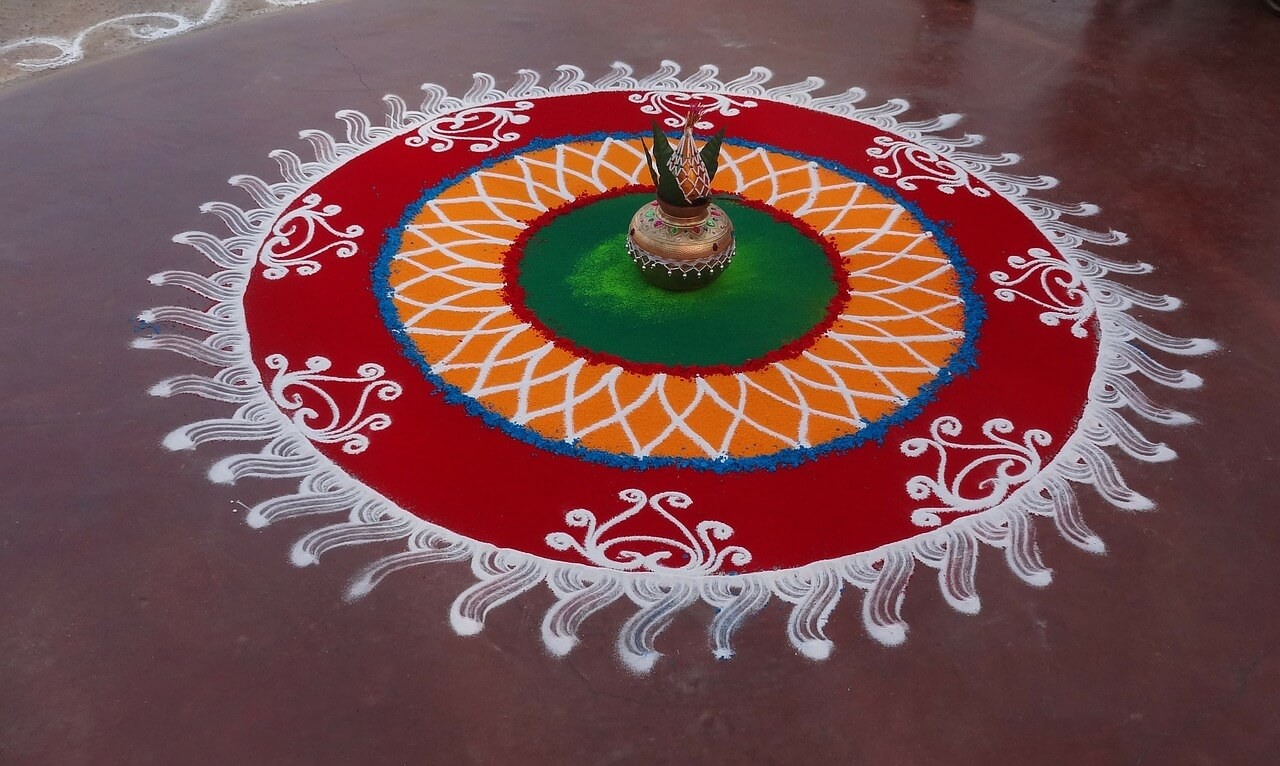 40 Simple Easy Diwali Rangoli Designs Patterns To Draw In Diwali 2019