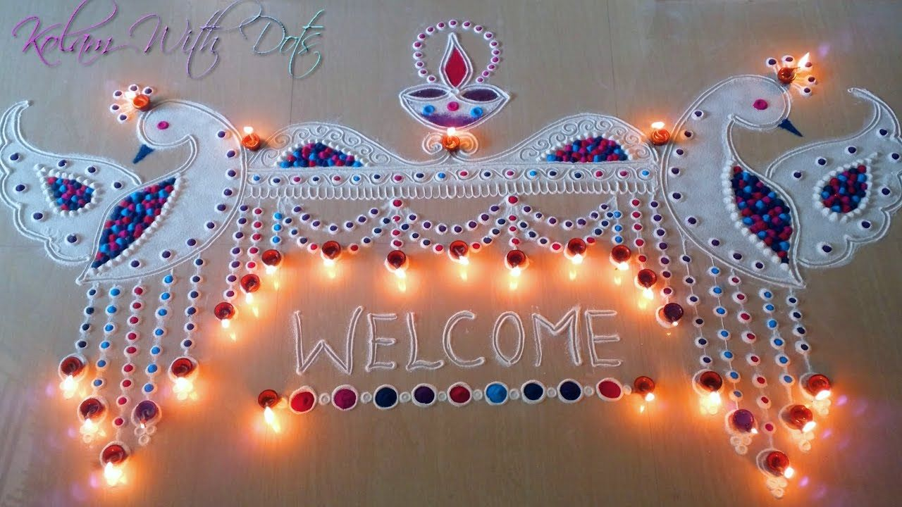 welcome-rangoli-design