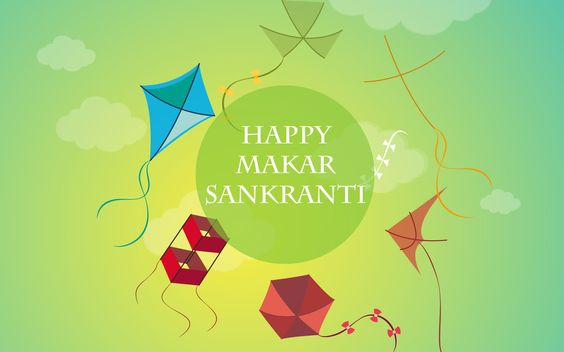 Happy makar sankranti Uttrayan 2015 HD Wallpaper