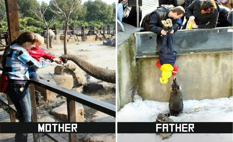 father-mother-difference