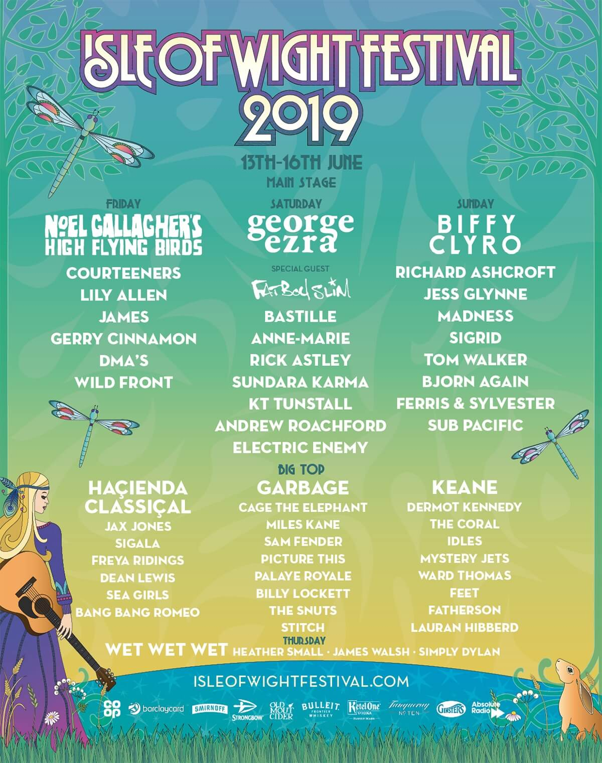 isle-of-wight-festival-2019-lineup