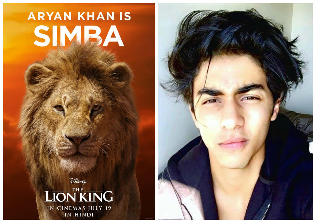 simba-hindi-dubbing-aryan-khan