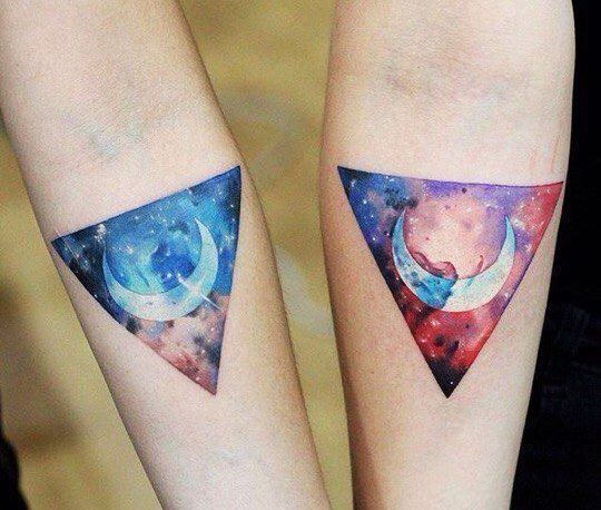 colored-tattoo-design-for-couple