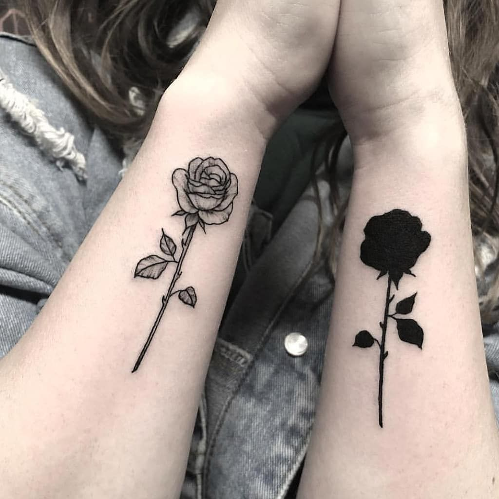 rose-tattoo-design-for-couple